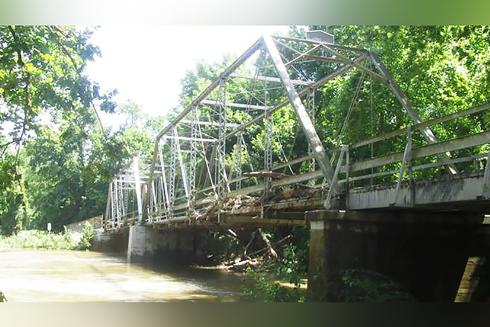 Riverside Bridge is being relocated to the Ozark Mill site as part of Johnny Morris' restoration plans.