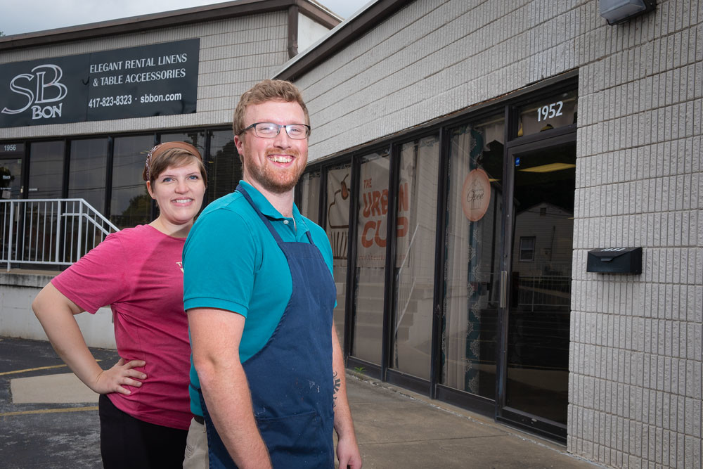 Tracey and Cory Withoelder, The Urban Cup