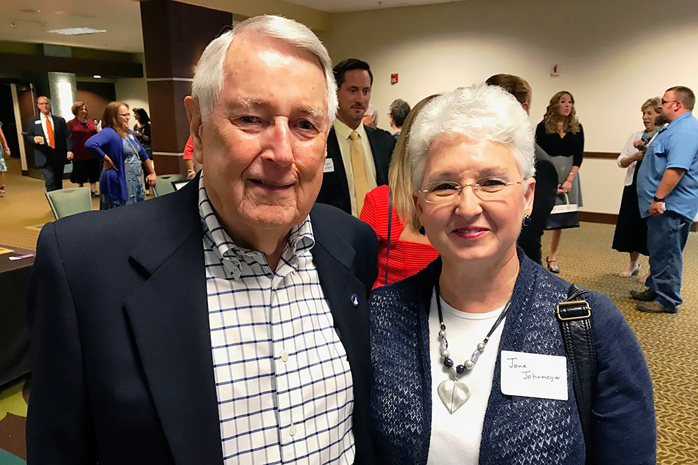 Bill and Jane Johnmeyer attend SBJ's 19th annual EIA ceremony at Oasis Hotel & Convention Center honoring Harry Cooper with the Lifetime Achievement in Business award.