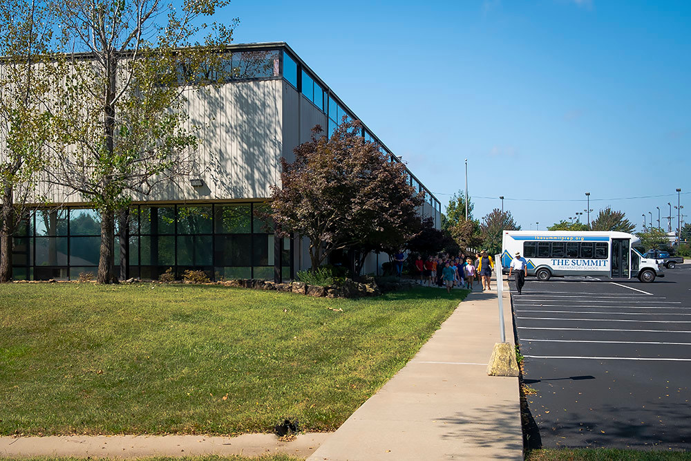 The Summit Preparatory School is now operating at its new campus on Walnut Lawn.