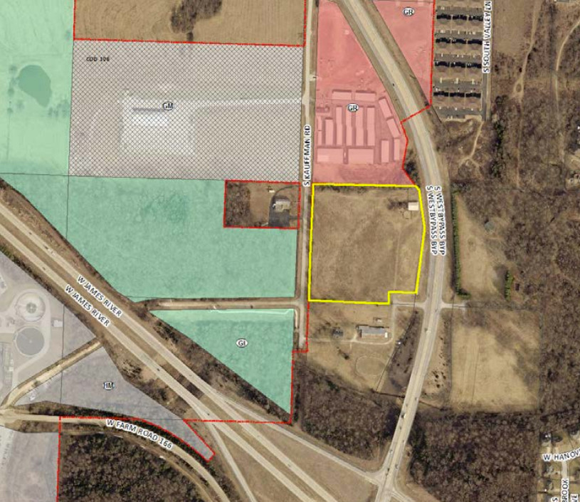 Anderson Engineering Inc. is seeking a rezoning and annexation to build its new headquarters on South West Bypass.