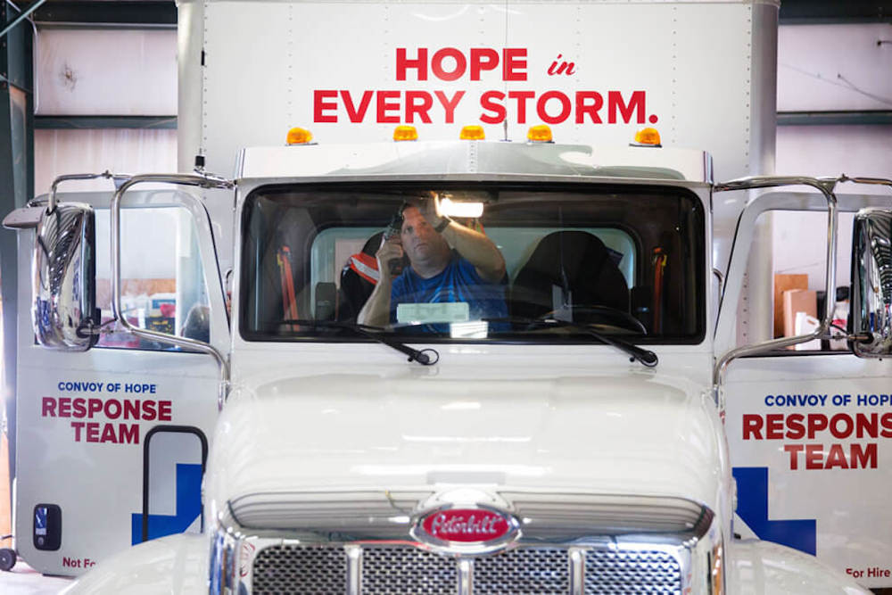 Convoy of Hope prepares to send teams and supplies to help those impacted by Hurricane Florence.