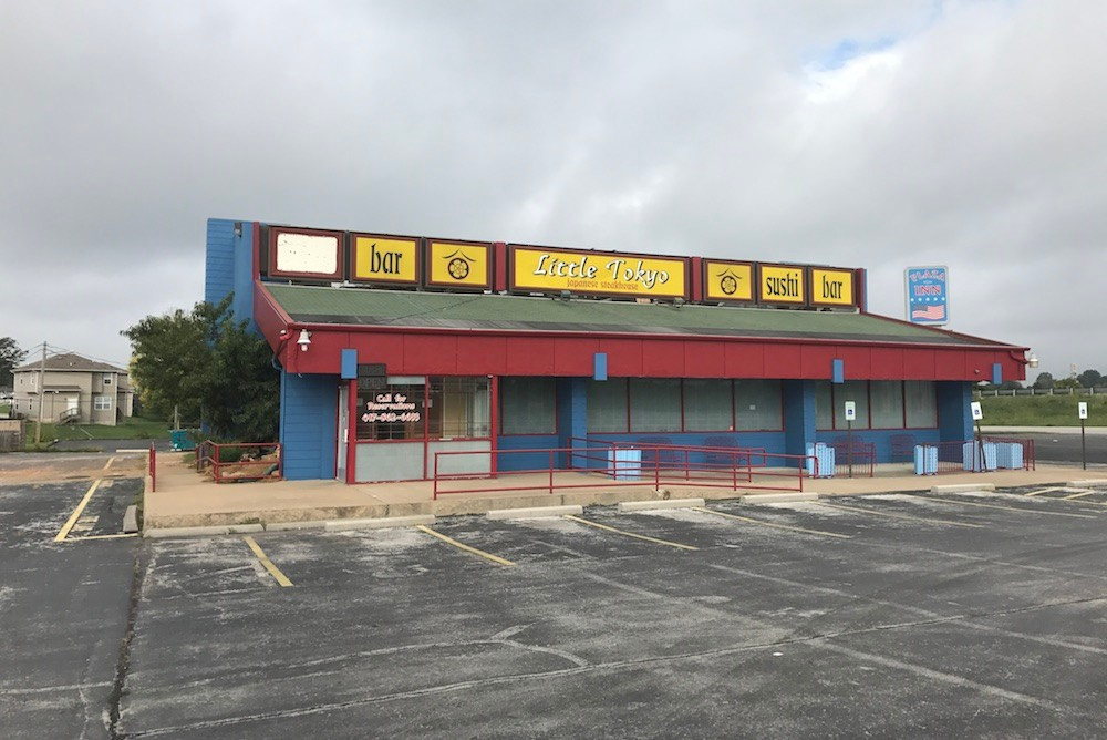 Little Tokyo Japanese Steak House is slated for an Oct. 10 foreclosure sale.