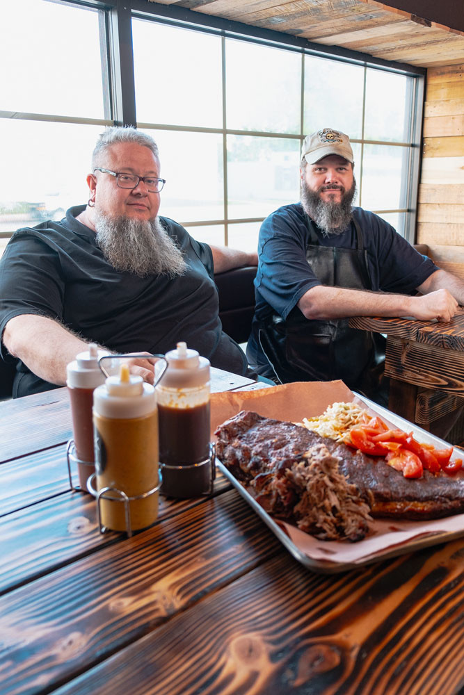 Scott Pitts and Jason Delcour, Black Market Smokehouse LLC