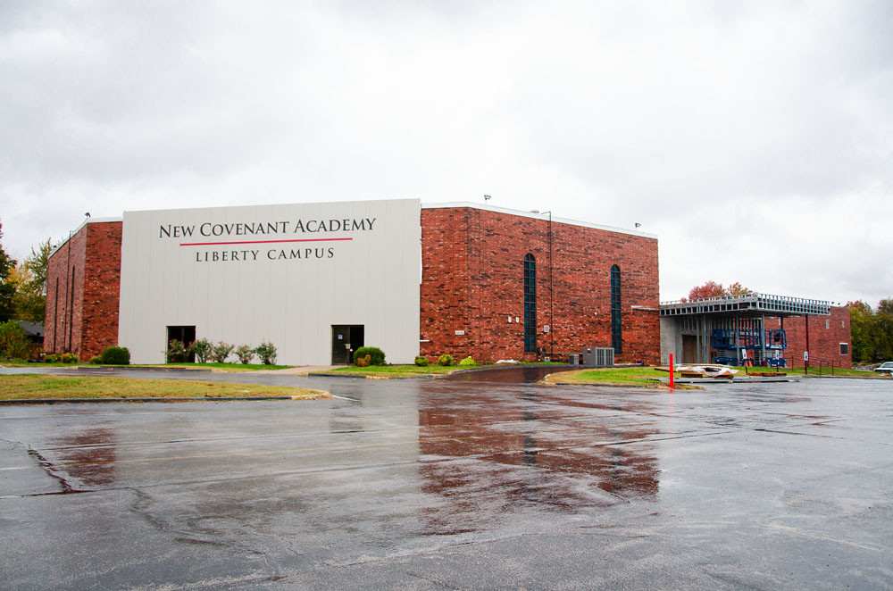 Academy Bank Springfield Mo >> Winter 2018 Construction In The Ozarks New Covenant Academy Liberty