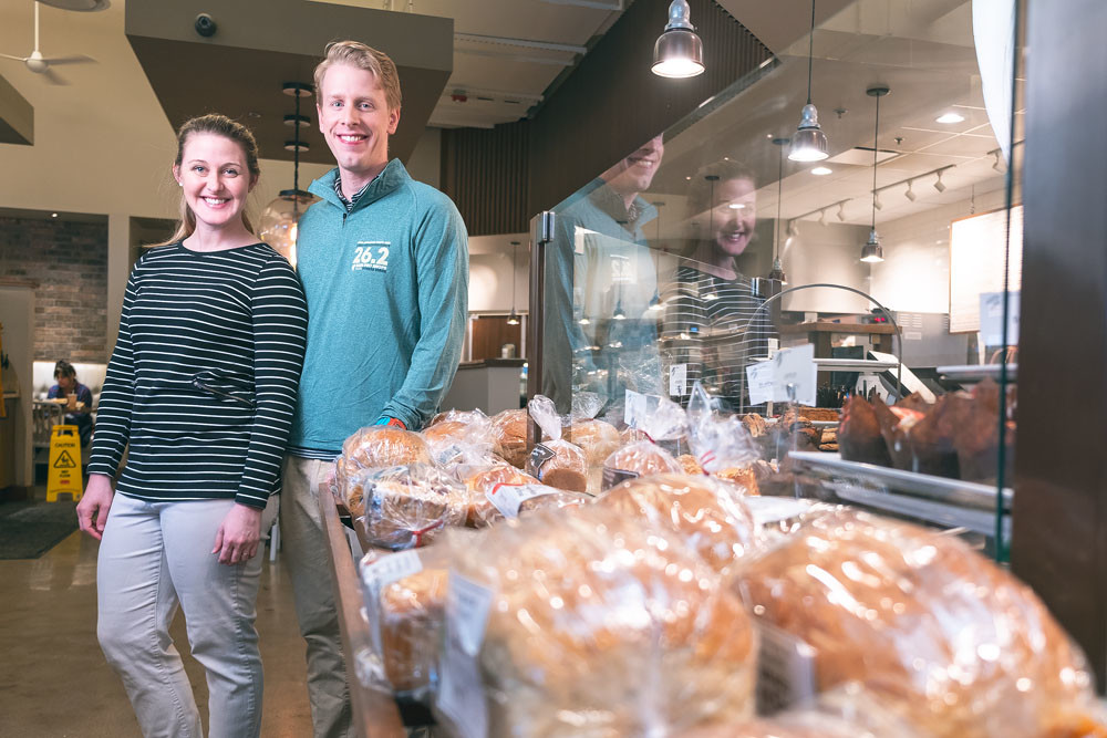 KNOW THE DOUGH: Lauren and Clif Brown worked every position at Neighbor's Mill Bakery & Cafe for nine months to study the business.