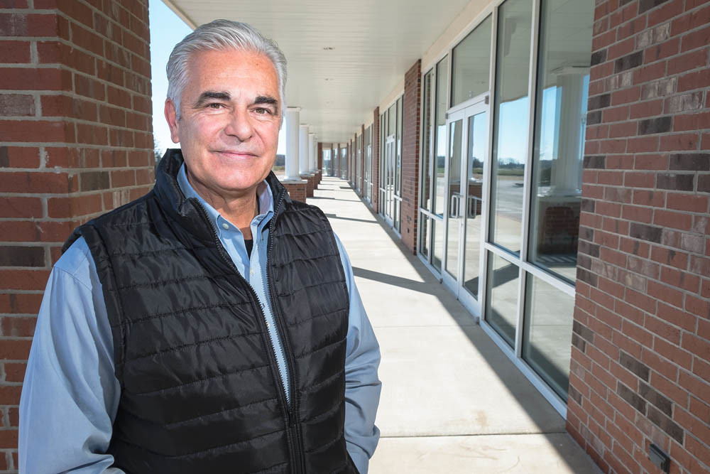 NEW BLOOD: Businessman David Clouse is working to fill the remaining three units at Jamestown Plaza after a property purchase in February.