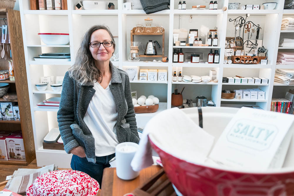SUSTAINABLE COLLECTION: Springfield Mercantile Co. owner Molly Brown is in business to connect nature, people and economics.