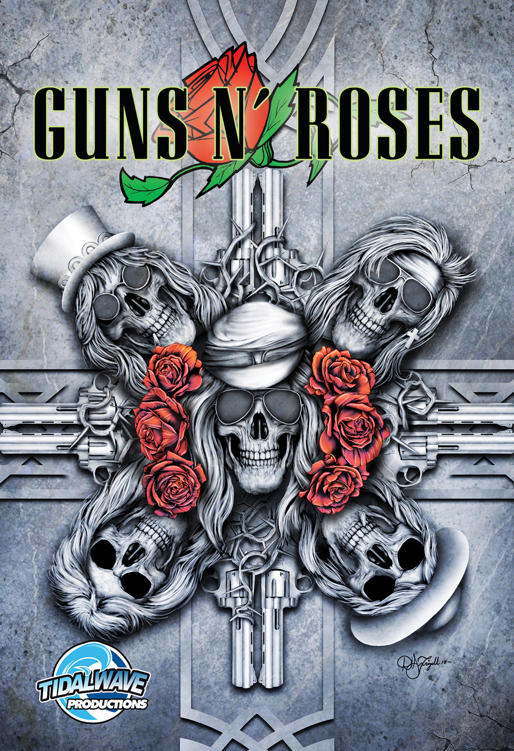 """Orbit: Guns N' Roses"" is written by Michael Frizell, who also works at Missouri State University."
