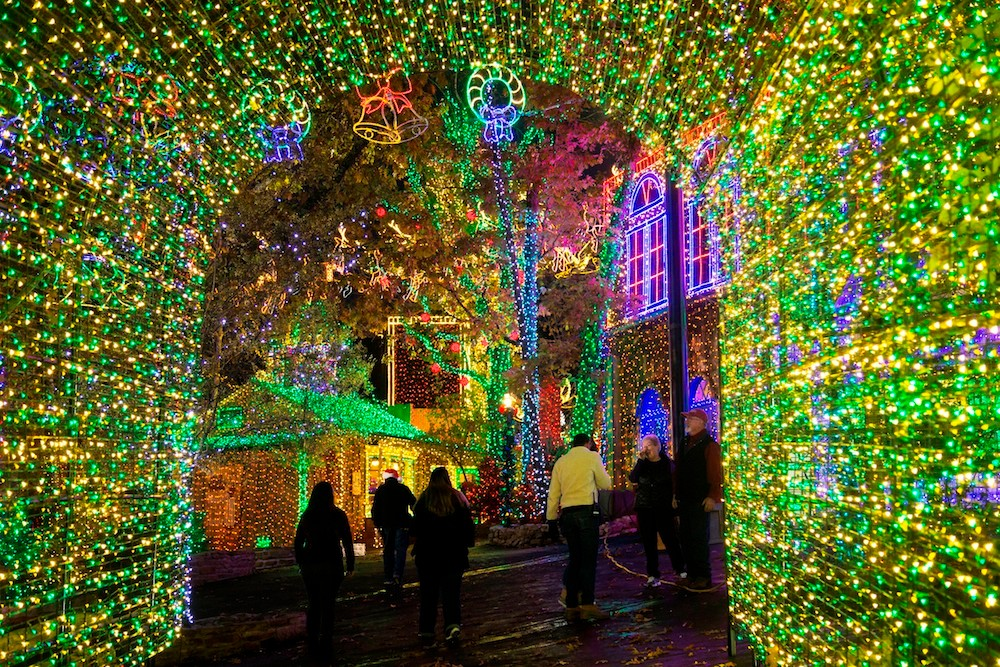 An Old Time Christmas features 6.5 million lights each year.