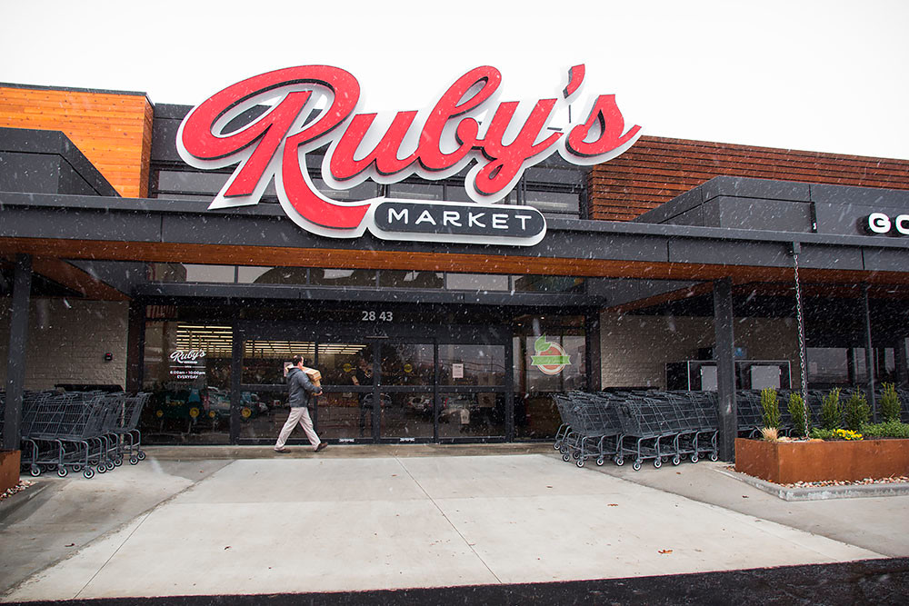 After opening in March 2017, the final day for Ruby's Market is set for Dec. 24.