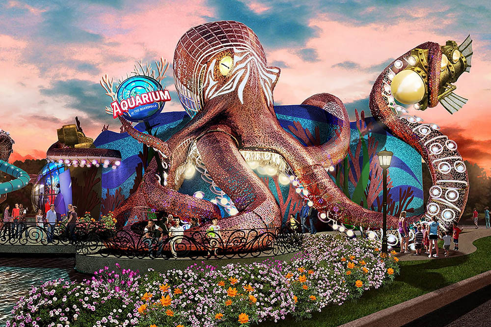 Kuvera Partners, which also owns Hollywood Wax Museum Entertainment Center in Branson, is behind the proposed Aquarium at the Boardwalk.