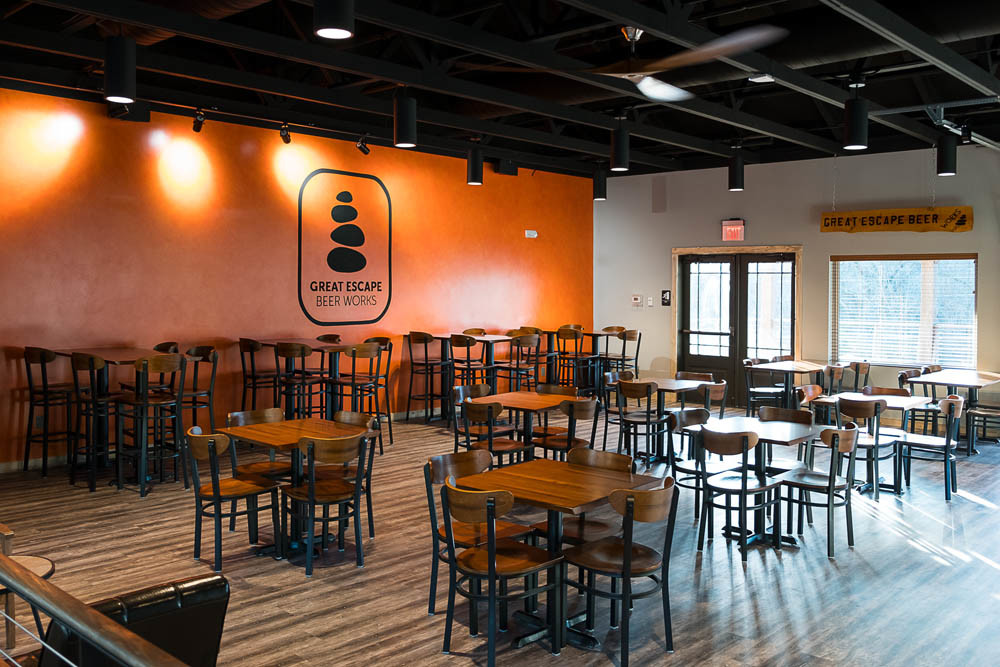 Great Escape Beer Works opened Dec. 15 as an anchor tenant for Quarry Town.