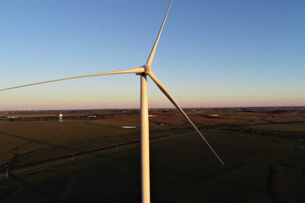 City Utilities enters a contract to buy power from Enel Green Power's new Diamond Vista wind farm near Salina, Kansas.
