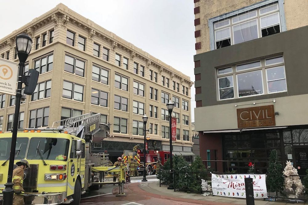 Civil Reopens After Fire Springfield Business Journal