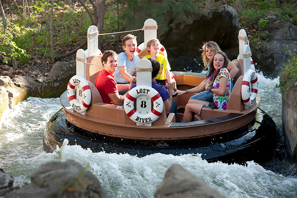Lost River of the Ozarks was open for nearly 35 years at Silver Dollar City.