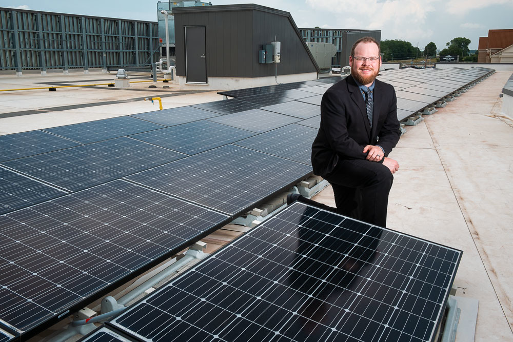 In response to federal tariffs, Sun Solar CEO Caleb Arthur says his company will buy solar panels from Silfab Solar's Bellingham, Washington, plant.