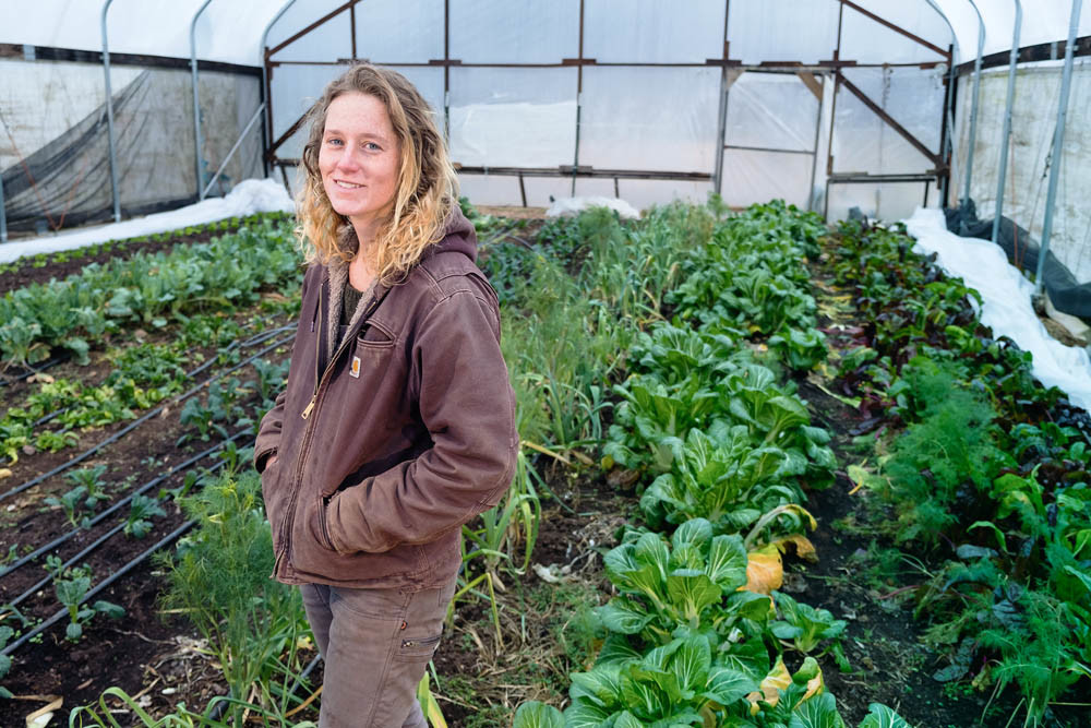 NEW ROOTS: Alyssa Hughes, a onetime apprentice at Urban Roots Farm, is tabbed as the Springfield farm's new manager.