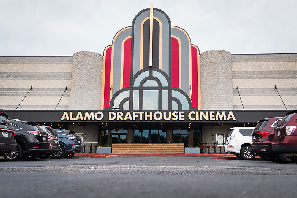 Alamo Drafthouse Cinema this month temporarily laid off 199 workers, according to a state filing.