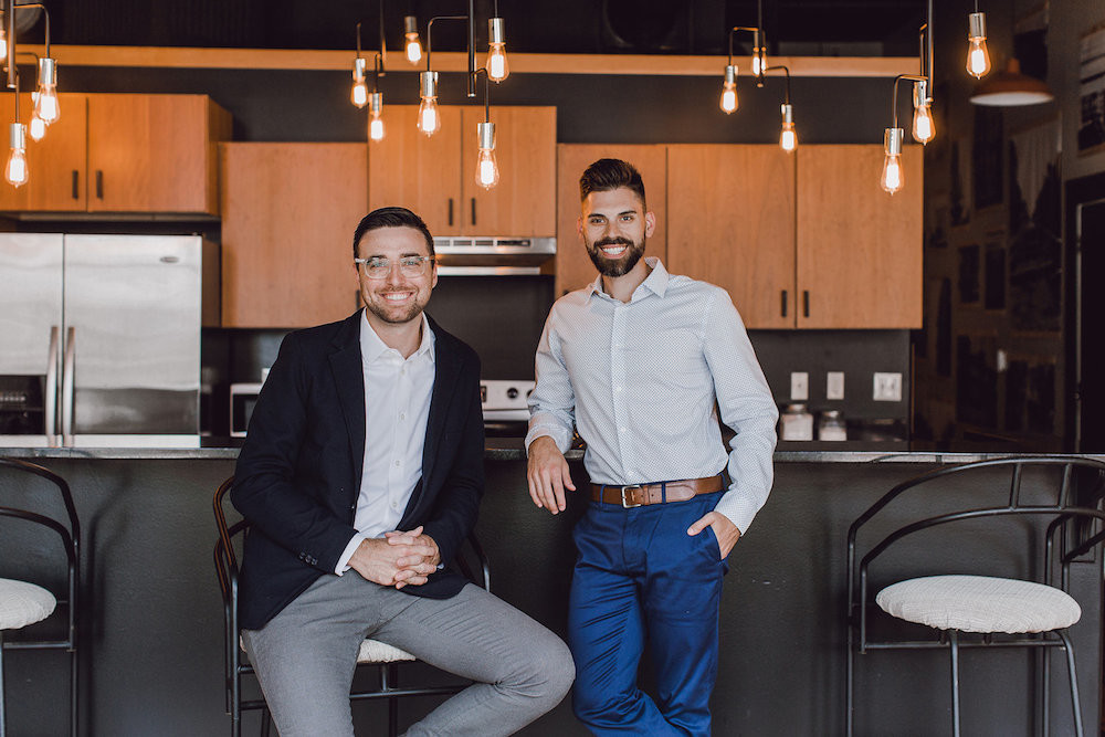 Aaron Owens and Adam Johnson form Alpha Realty MO LLC.