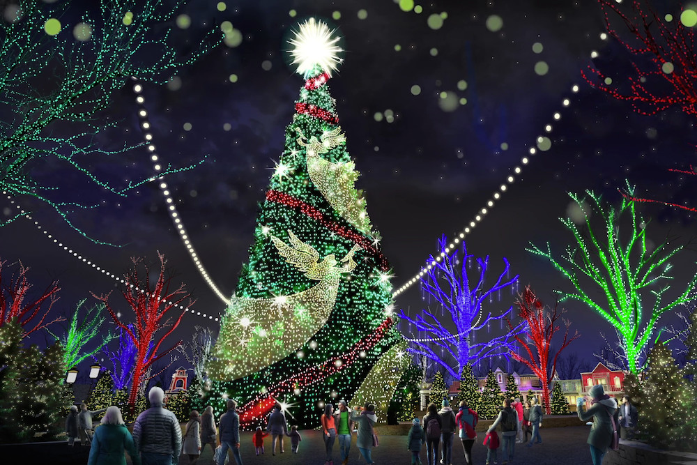Atlanta-based S4 Lights is designing a new 80-foot-tall tree to serve as the centerpiece for Silver Dollar City's Joy on Town Square.