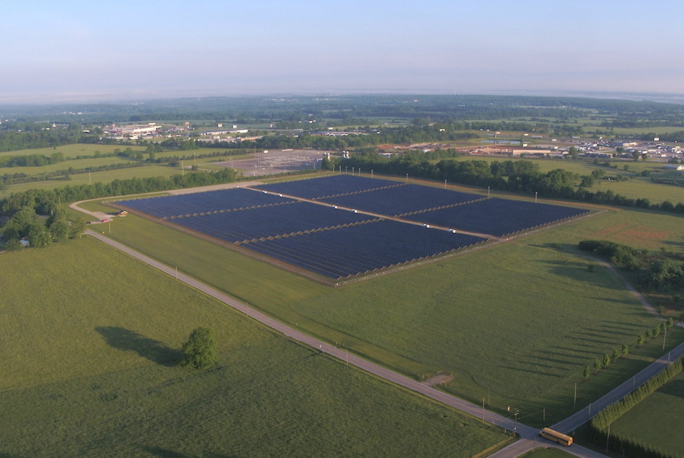 City Utilities decides not to move forward in the near-term on a second solar farm after opening the first, pictured above, in 2014.