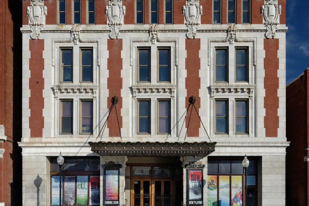 Officials are seeking $2.5 million to renovate the Landers Theatre.