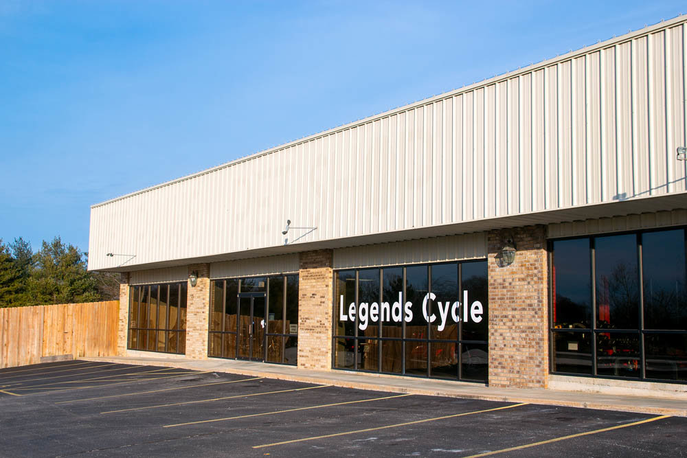 Legends Cycle LLC is now open for business in south Springfield, even as one of its owners is embattled in a nearly 2-year-old lawsuit.
