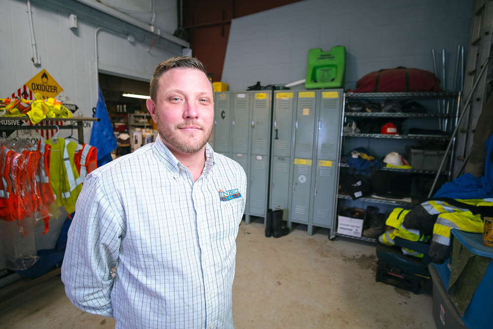 FINDING HELP: Steve Schaefer of Sunbelt Environmental Services is involved in the city's Green for Greene program, through which he's hired 10 employees.