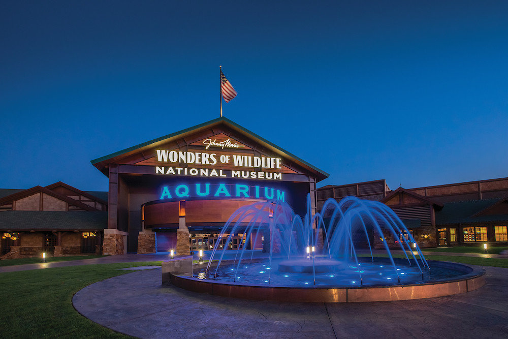 Wonders of Wildlife National Museum & Aquarium is selected for the CVB's Hospitality Award.