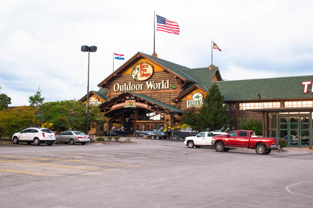 Three hotels are recommended near the Bass Pro complex at Campbell Avenue and Sunshine Street.
