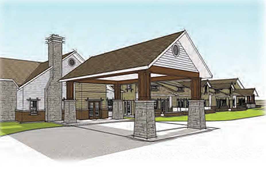 Springhouse Village is planned east of Menards at U.S. Highway 65 and Chestnut Expressway.