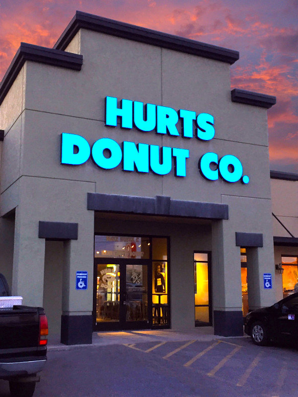 Hurts Donut's Joplin store, a franchise operation, is no longer operating.