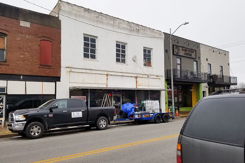 The 3,000-square-foot space previously housed Crossroads Auction Co. and Nixa Hardware & Seed Co.