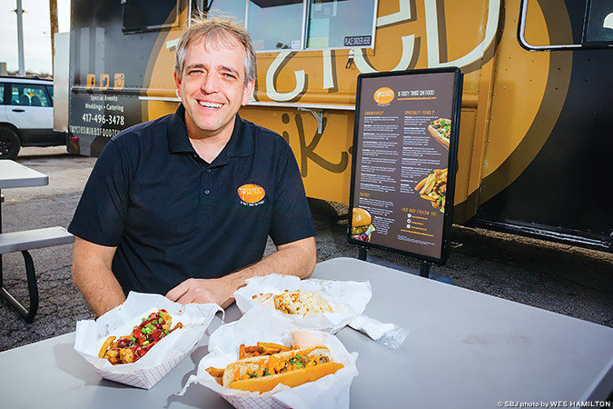 Michael Easley, shown here in February 2017, opened Twisted Mike's food truck in September 2015.