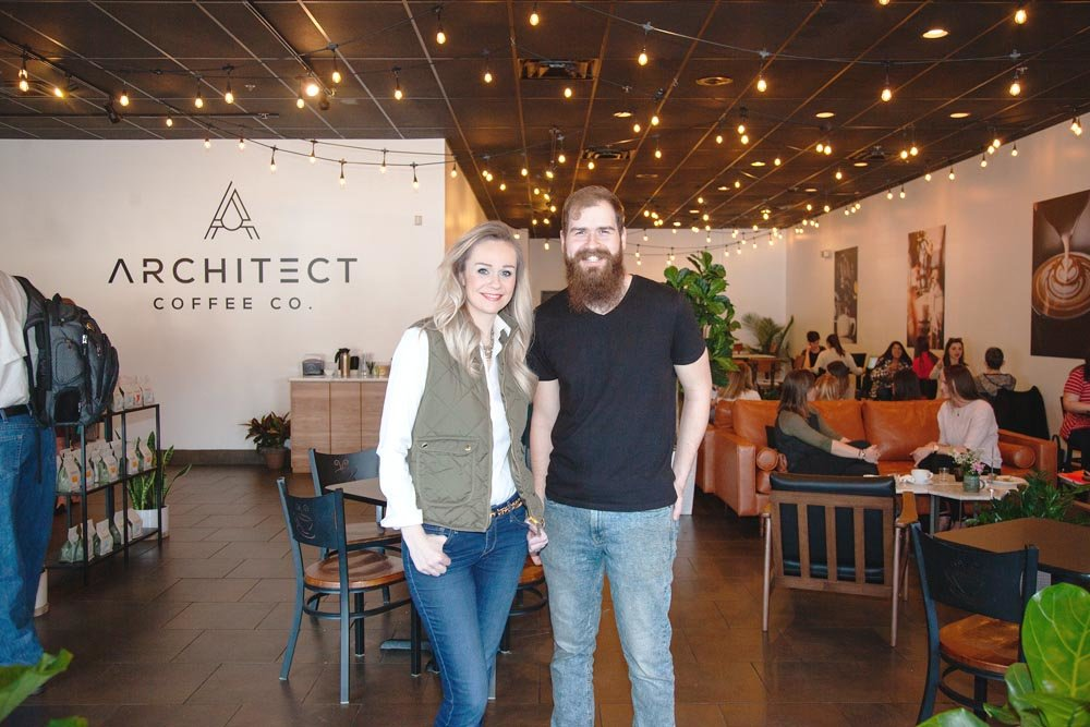 Alycia Horn and Nick Bearden, Architect Coffee Co. LLC