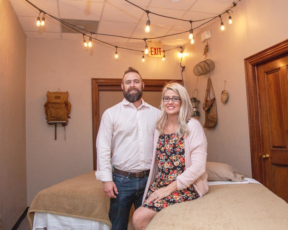 SEEKING EXPANSION: At Drs. Eric and Tania Reavis' new office on Republic Road, they plan to add a primary care physician.
