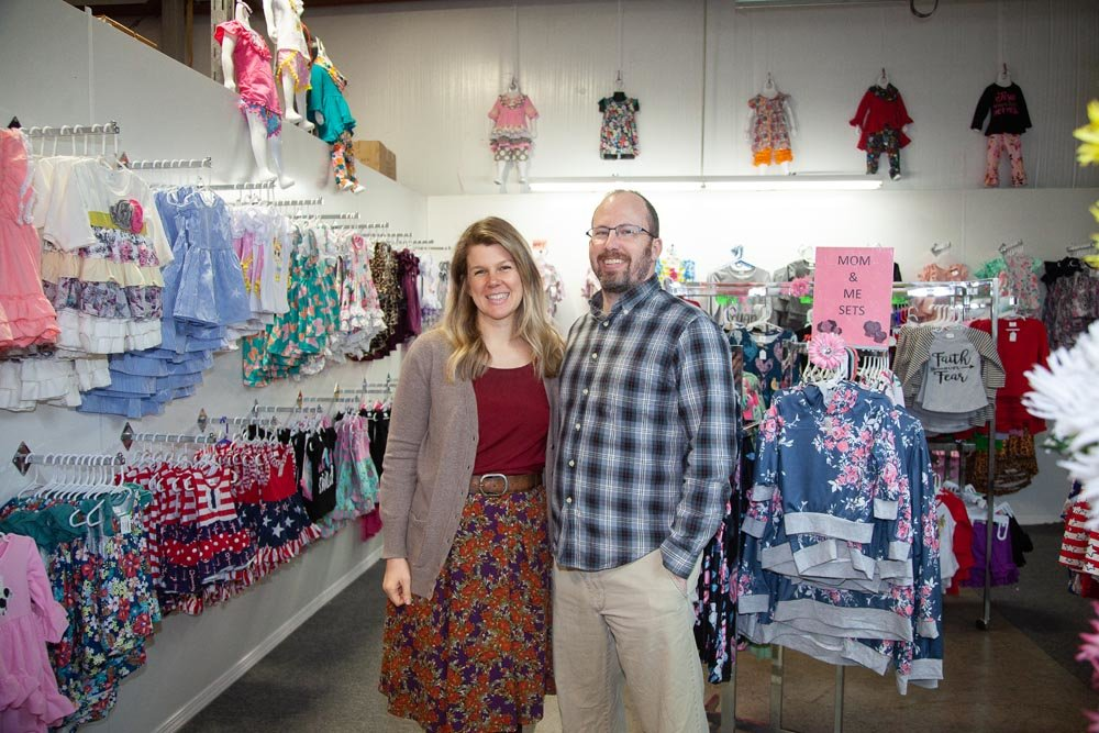 MAKING A MOVE: Andrea and Matt Battaglia hope to partner with another boutique or invest in a storefront to create a Springfield presence.