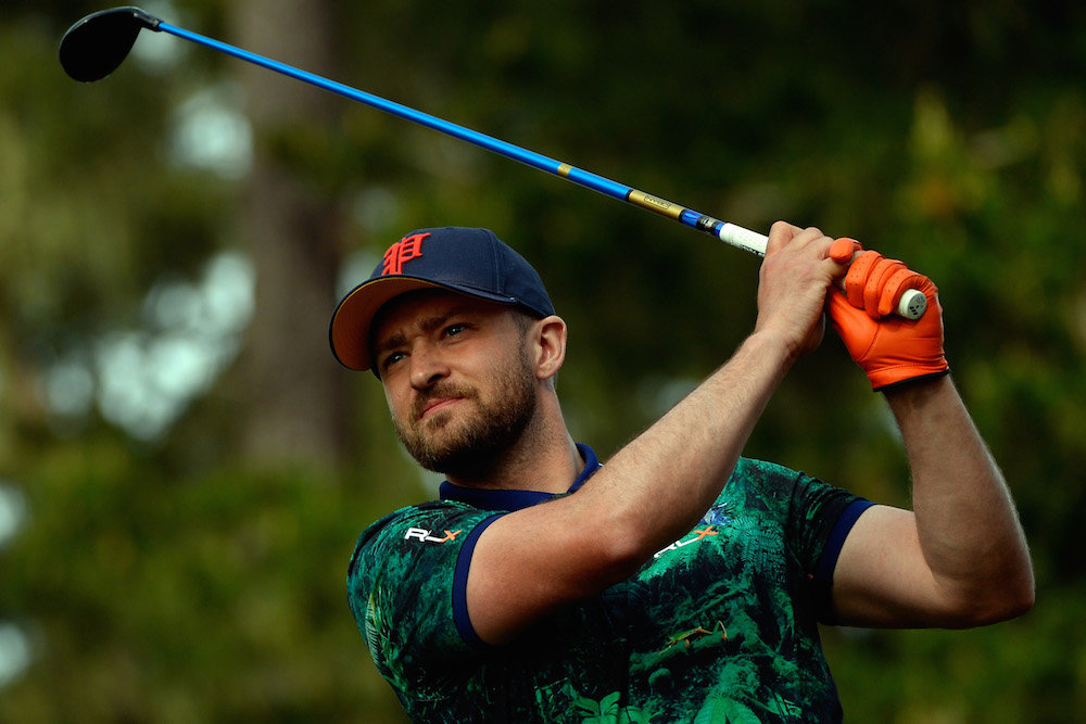 7991d4f747c Justin Timberlake joins slate of celebrities at Legends of Golf ...