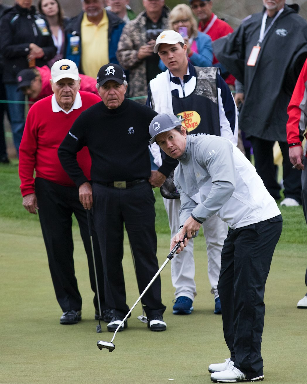 Mark Wahlberg returns with the likes of Gary Player and Jack Nicklaus.