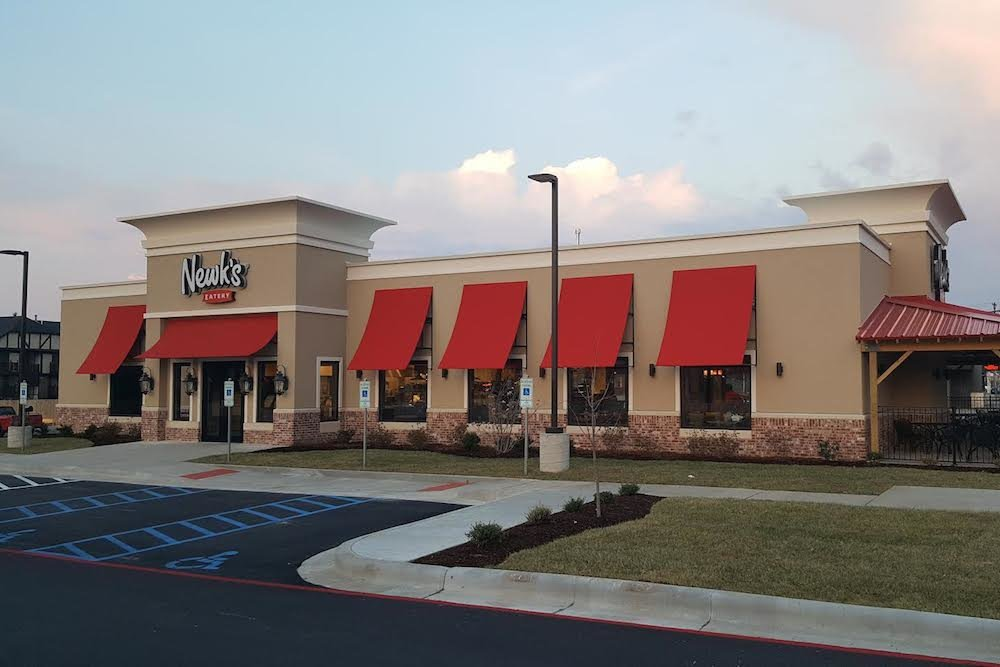 Newk's Eatery is no longer operational at 220 W. Battlefield Road.