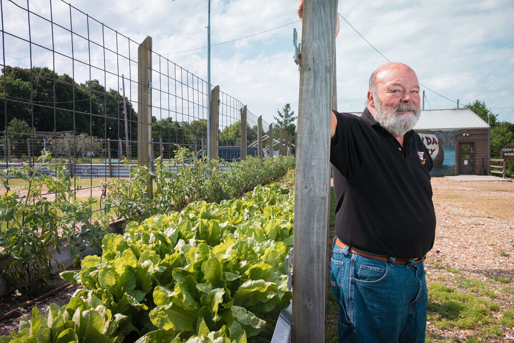 Oovvda Winery owner Brian Overboe, shown here in summer 2018, has a buyer for his winery after more than a dozen years in business.