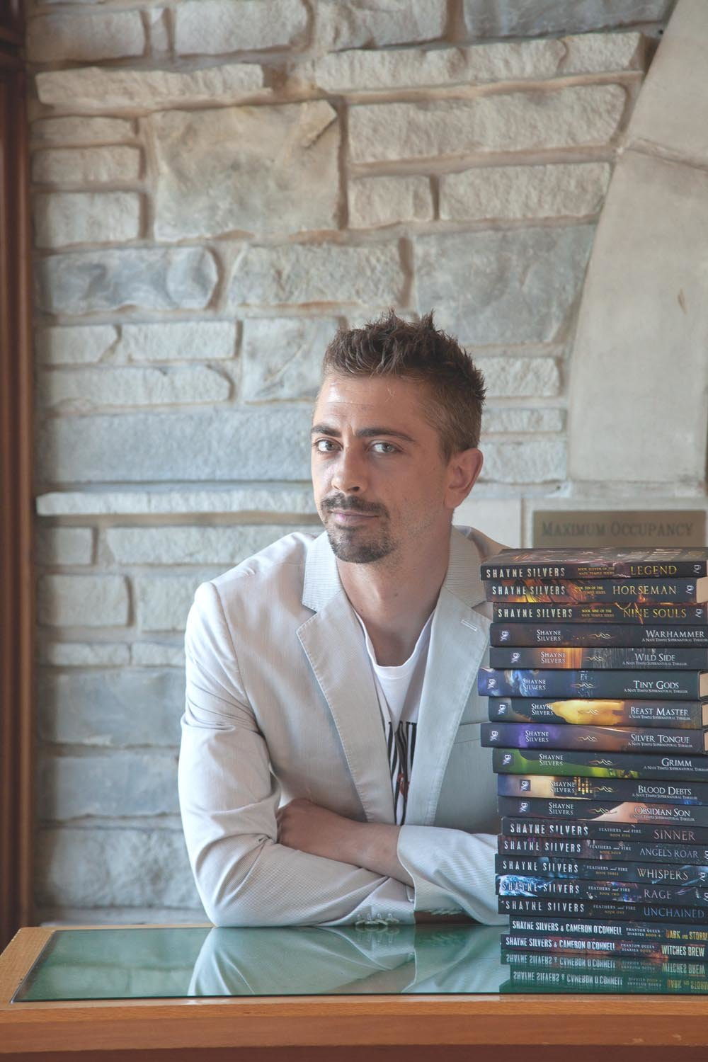 Author Shayne Silvers plans to self-publish nearly 20 books this year.