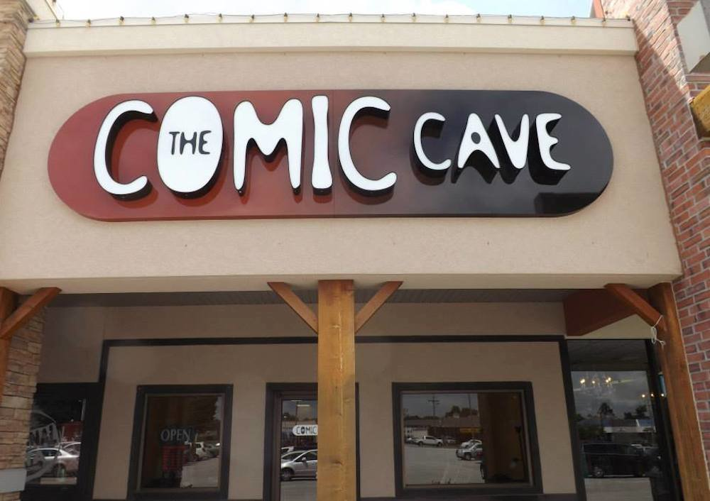 A liquidation sale starts Saturday at The Comic Cave, a six-year-old business in the Fremont Center.