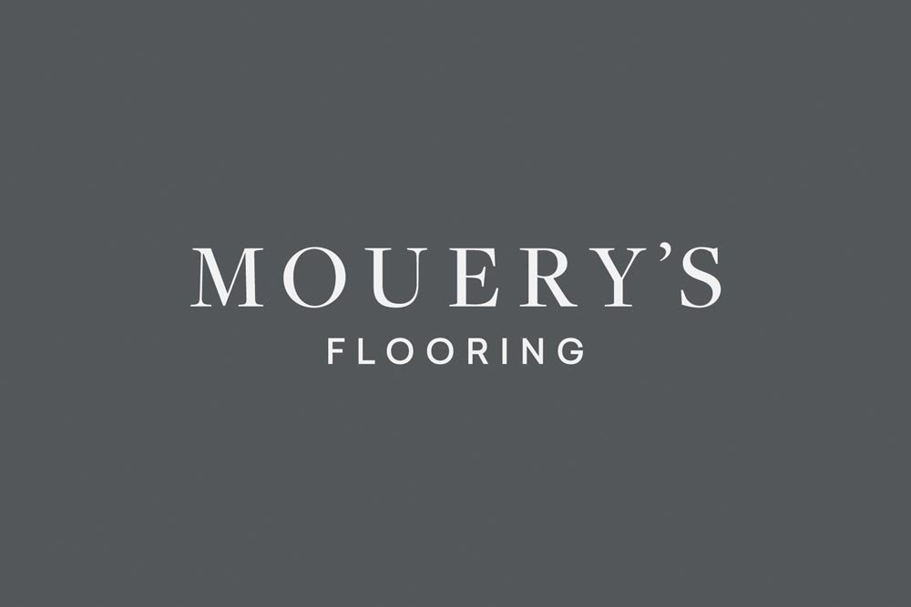 A NEW DESIGNATION: Longitude's work includes renaming locally owned Mouery's Flooring, formerly The Carpet Center.