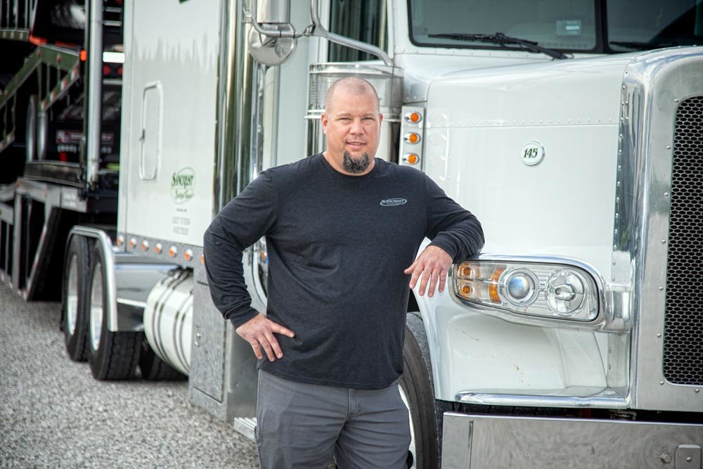 NEW ROUTE: Phil Rauch started his transportation company after a career as a dairy farmer.