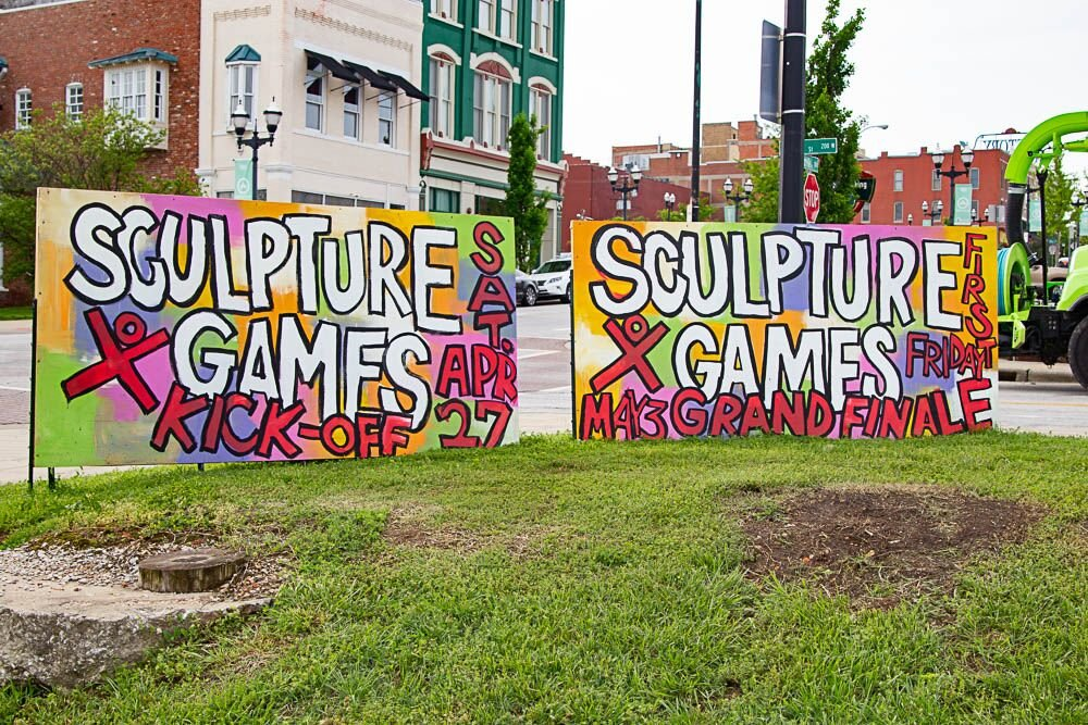Ninety-five artists participated in ideaXfactory's recent Sculpture X-Games.