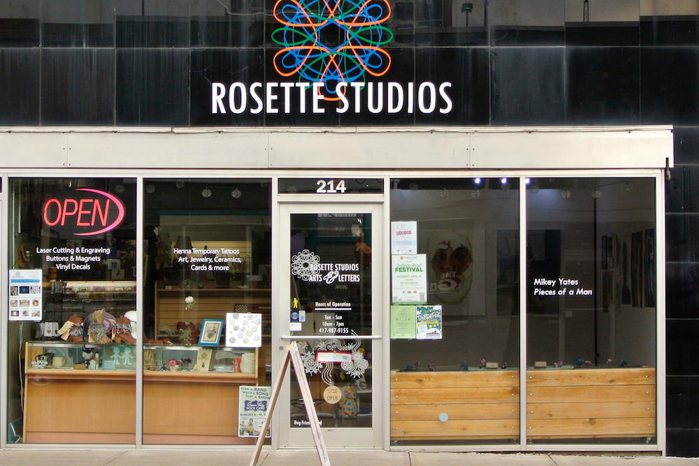 Rosette Studios is vacating its downtown home at 214 S. Campbell Ave.