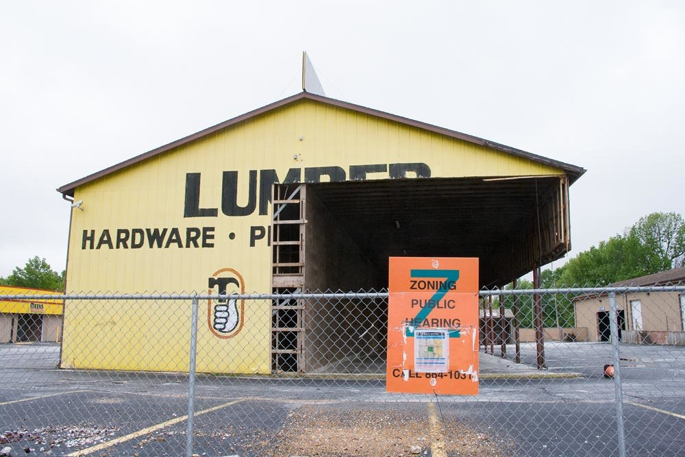 The shuttered Meek's Lumber store on East Sunshine Street may get a new retail tenant.