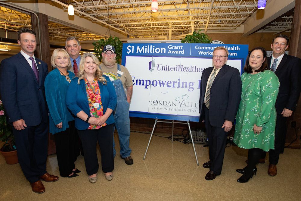 Jordan Valley Community Health Center receives a $1 million grant from UnitedHealthcare.